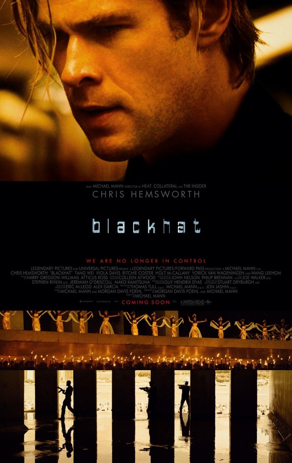 Blackhat, amenaza en la red tráiler.