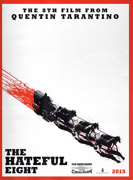 The Hateful Eight teaser tráiler.