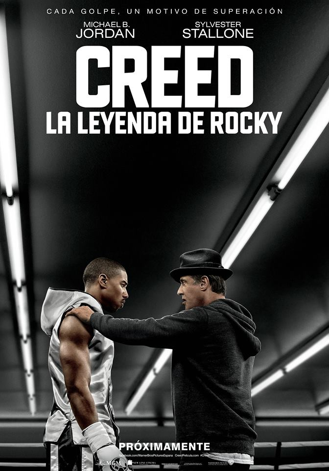Creed: la leyenda de Rocky tráiler final.