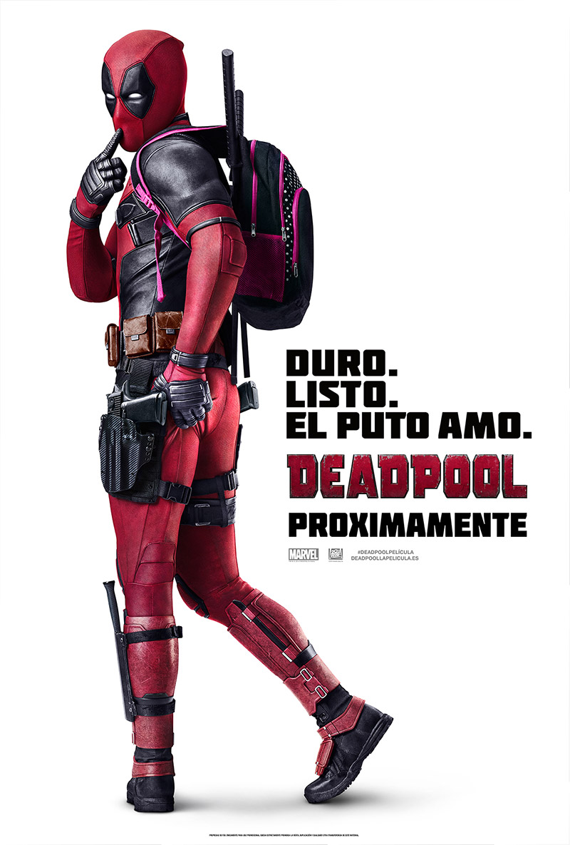 Deadpool tráiler final.