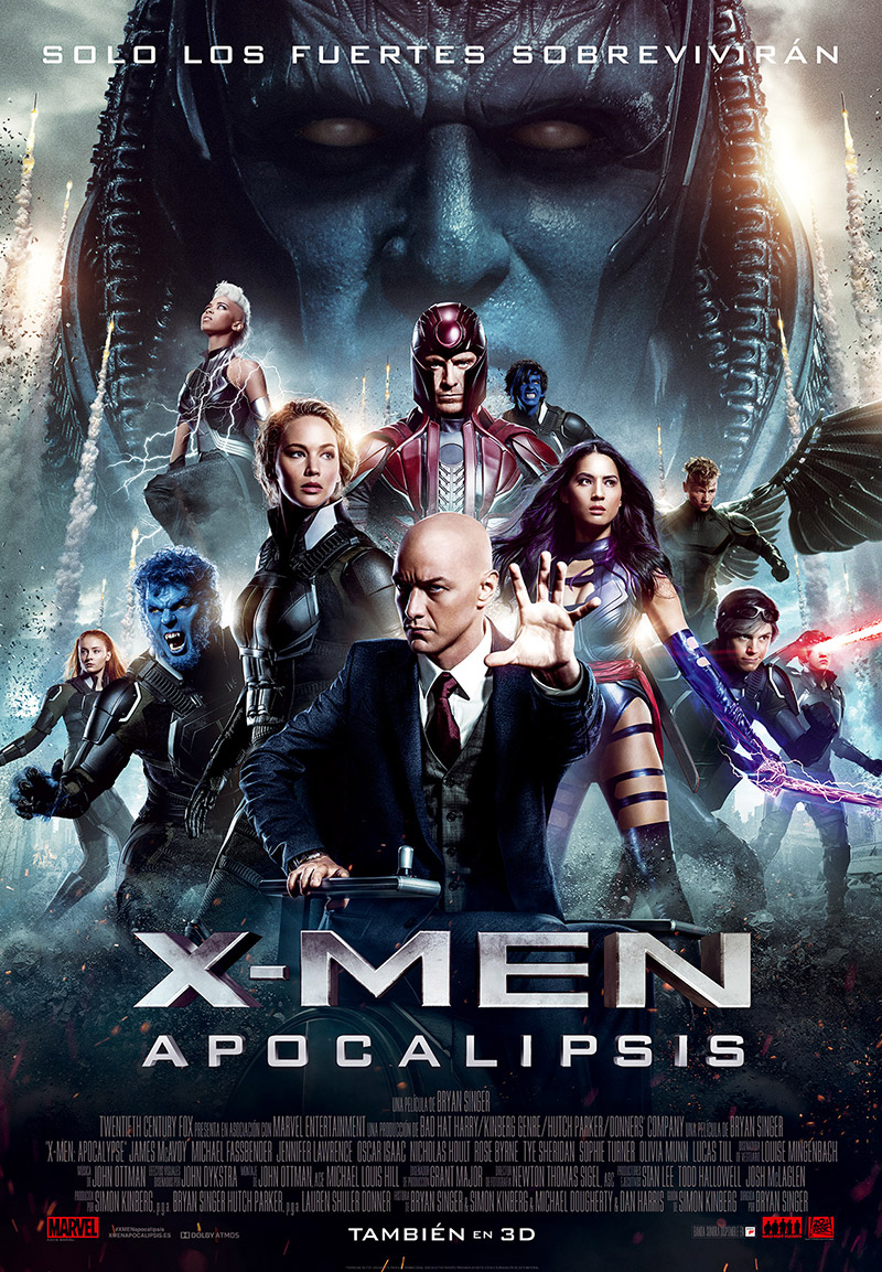 X-Men: Apocalipsis tráiler final.