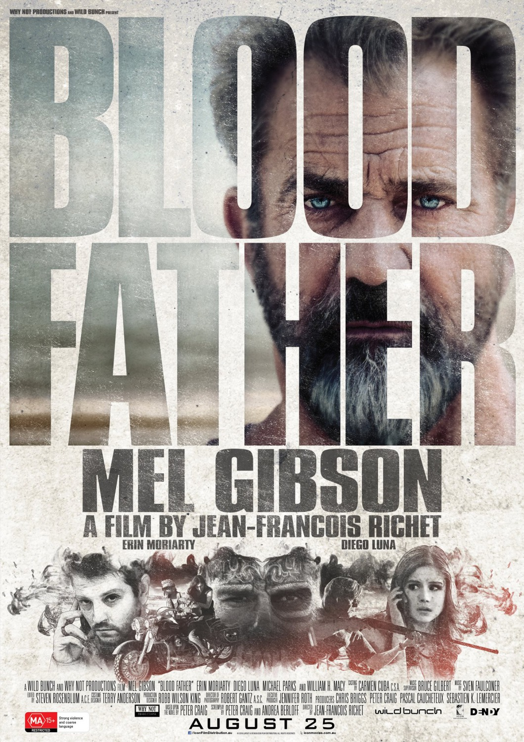 Blood Father tráiler: la justicia de Mel.