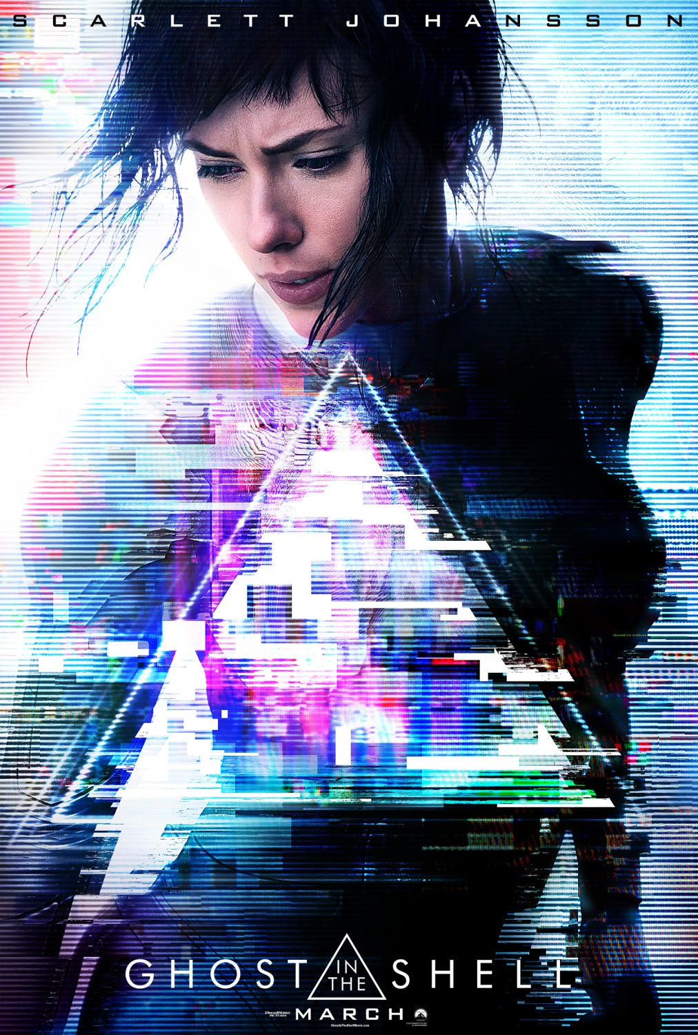 Ghost in the Shell – El alma de la máquina tráiler.