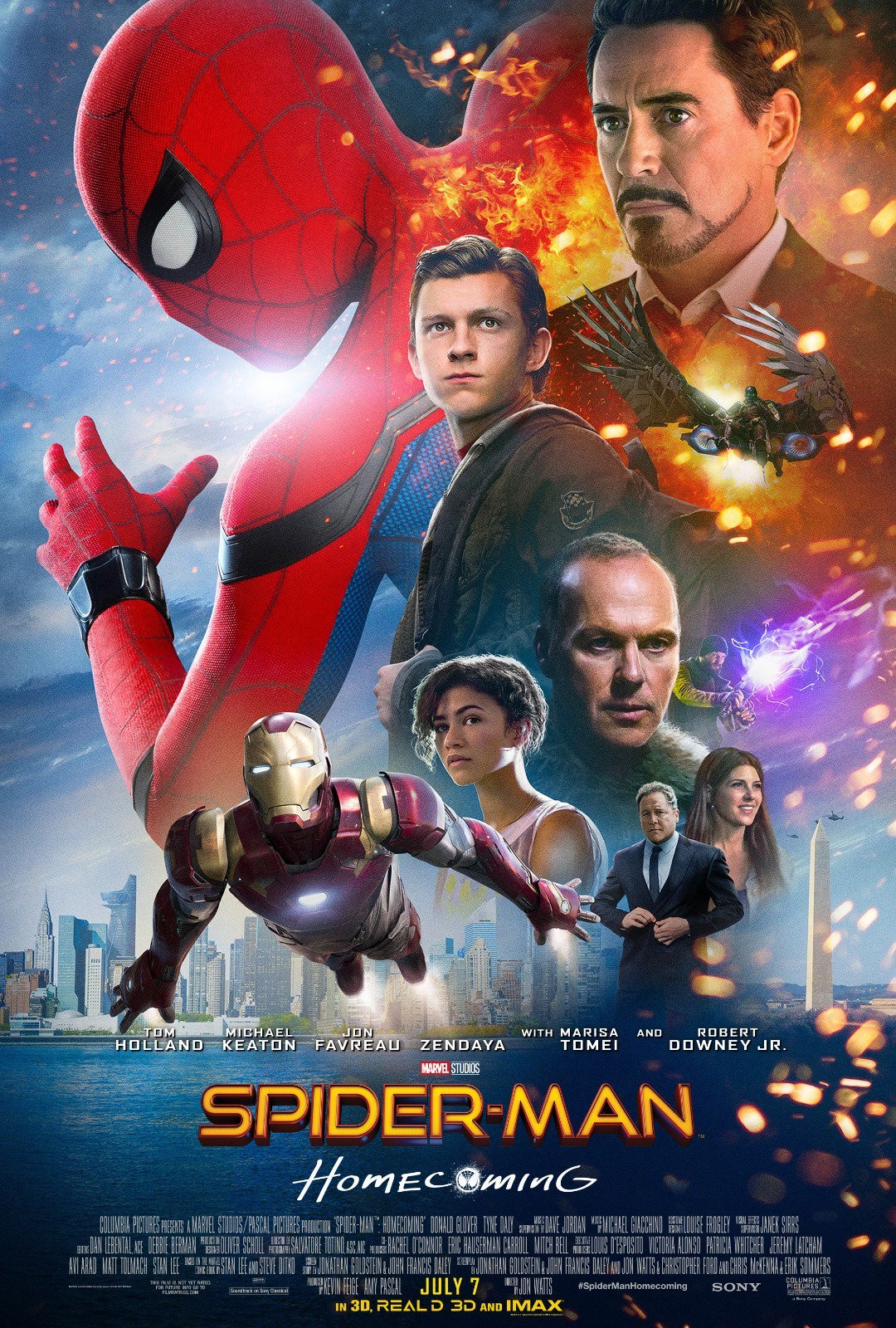 Spider-Man: Homecoming tráiler final.