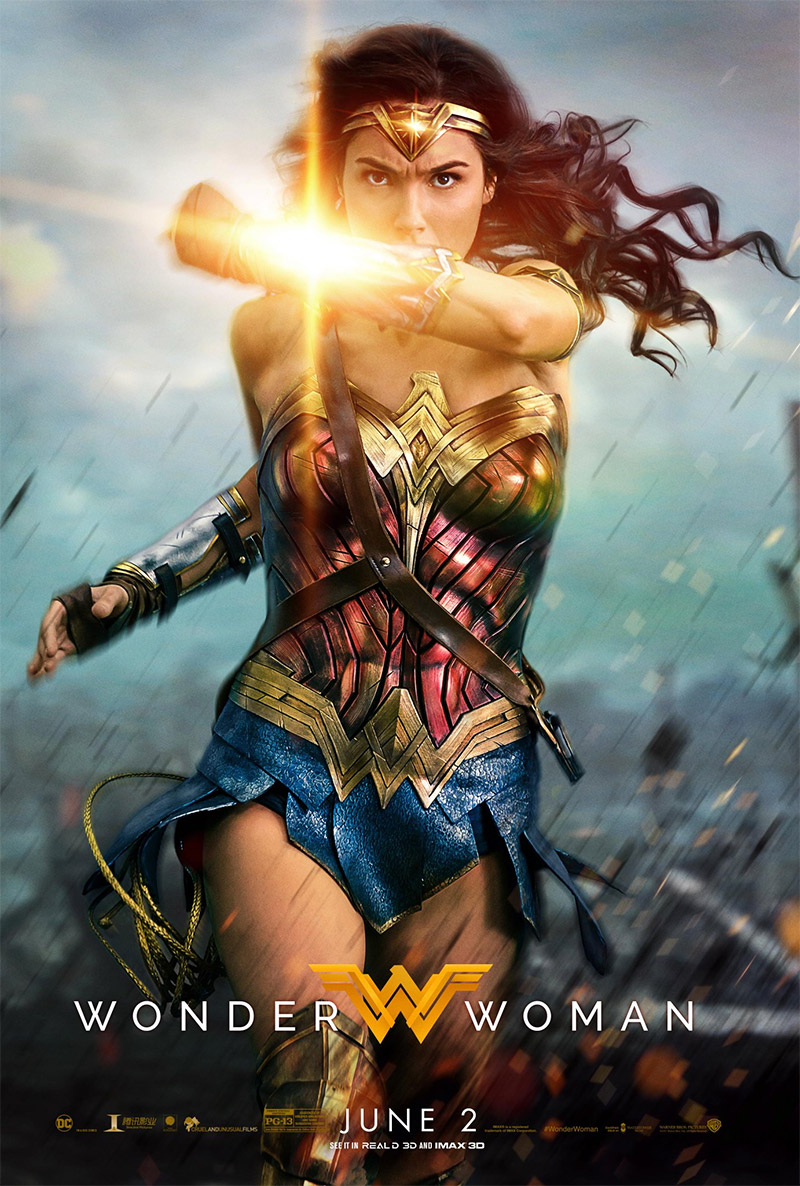 Wonder Woman tráiler final.