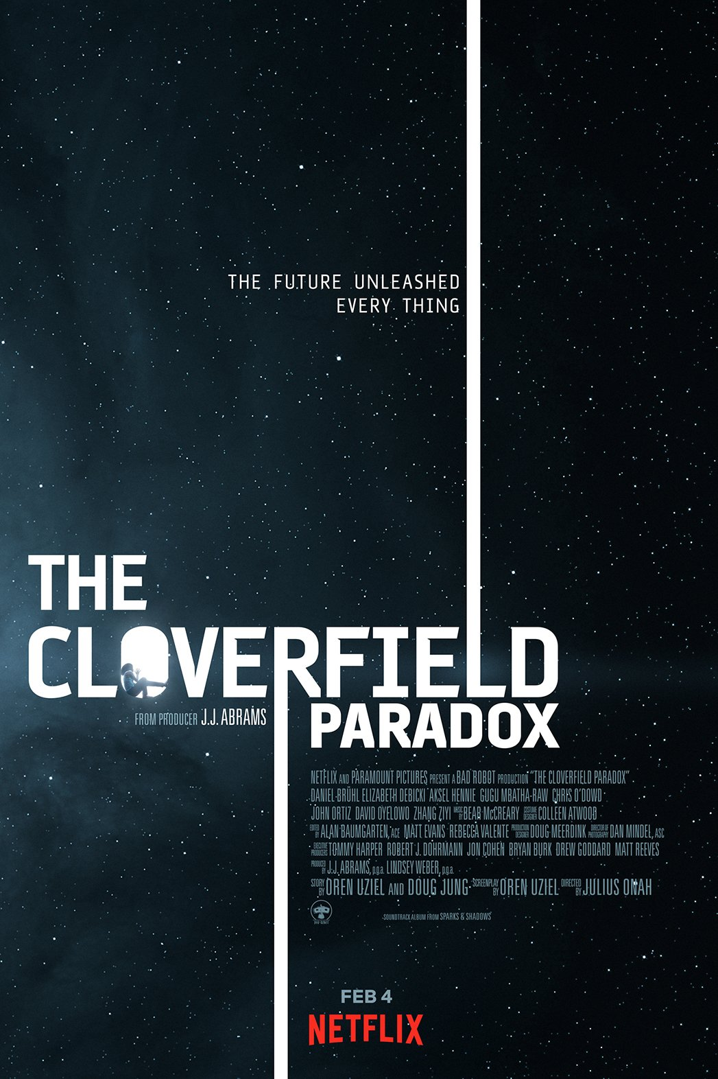 The Cloverfield Paradox tráiler.